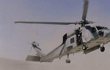 MDS Coating Technologies Aerospace Company HH-60H Seahawk Helicopter