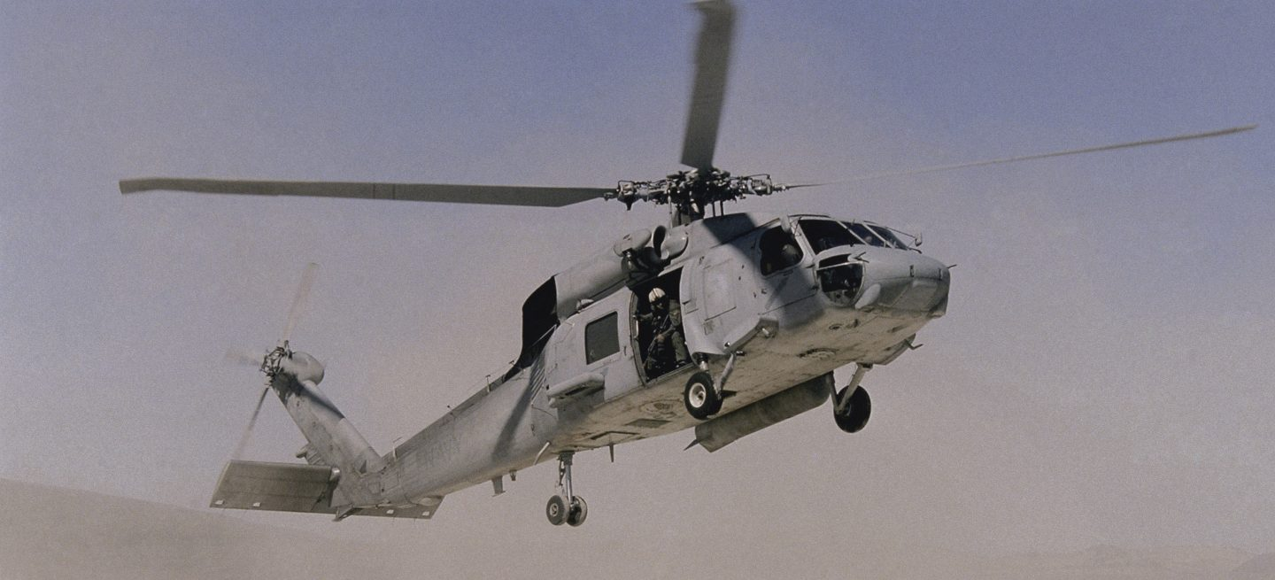 MDS Coating Technologies Aerospace Company HH-60H Seahawk